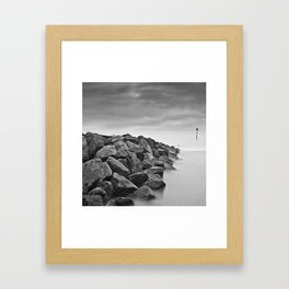 Sea of Calm Framed Art Print