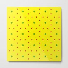 Yellow-Ellow Metal Print