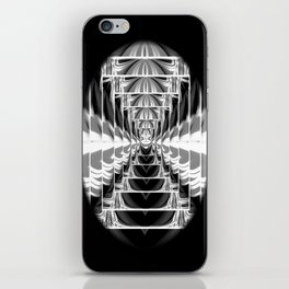 Black+White Abstract.Modern. iPhone Skin