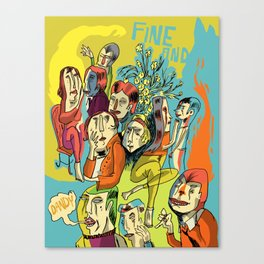 (Fine and) Dandy Canvas Print