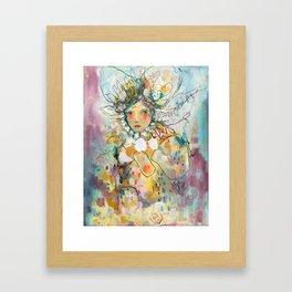 Turtle Moon Framed Art Print