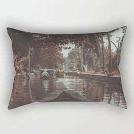 The magic of the Kerala back waters, India  Rectangular Pillow