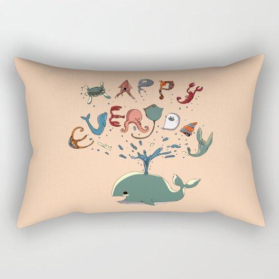 Happy Everyday Rectangular Pillow