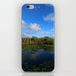 Blue Hour In The Everglades iPhone Skin