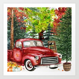 Maple Farms Art Print