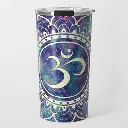 Om Mandala : Deep Pastels Galaxy Travel Mug