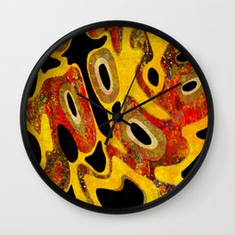 Cell Party Wall Clock