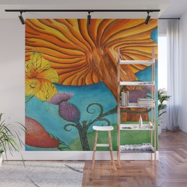 Lion Hearted Wall Mural