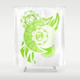 Foliation Shower Curtain