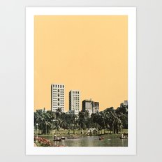 October Sun Art Print
