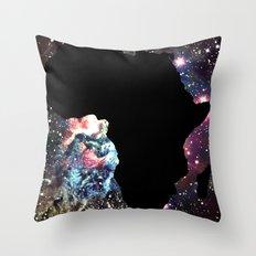 Galaxy Africa Throw Pillow
