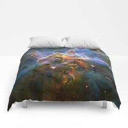 Mystic Mountain (a region in the Carina Nebula)(NASA/ESA Hubble Space Telescope) Comforters