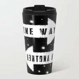 One Way Metal Travel Mug