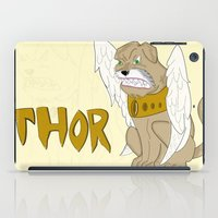 thor iPad Cases featuring Thor by QUED