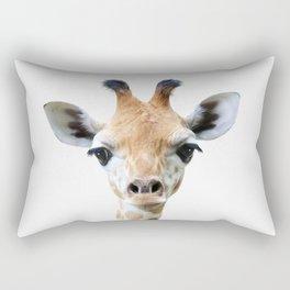 Giraffe Head Rectangular Pillow