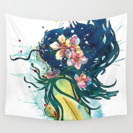Beach Goddess Wall Tapestry