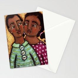 Sara and Raj Stationery Cards