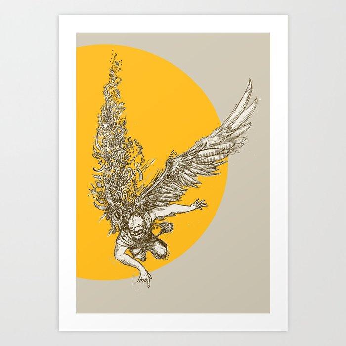 Icarus Kunstdrucke