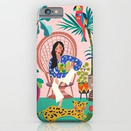 Plant lady III iPhone Case