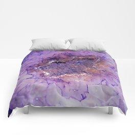 Amethyst Geode Comforters