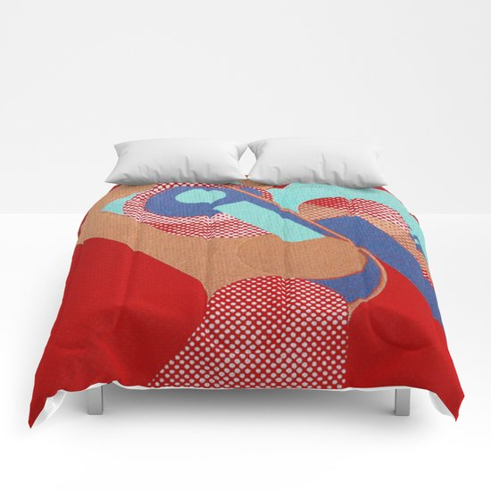 Gerald Laing in Rio Comforters