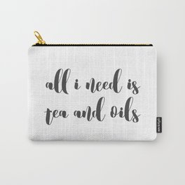 Tea and Oils Carry-All Pouch