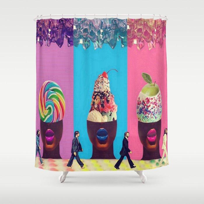 Sundae Candy Shower Curtain