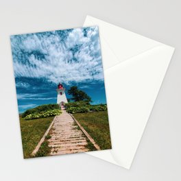 Lighthouse on Prince Edward Island Stationery Cards