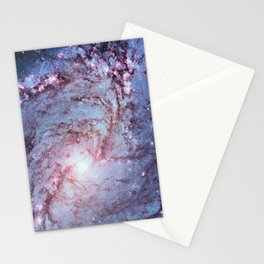 Messier 83, Southern Pinwheel Galaxy, M83 in the constellation Hydra. Stationery Cards