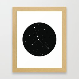Zodiac - Cancer Framed Art Print