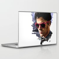 darren criss Laptop & iPad Skins featuring Darren by Monika Gross
