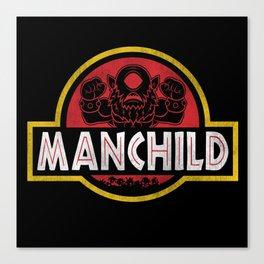Manchild Park Canvas Print