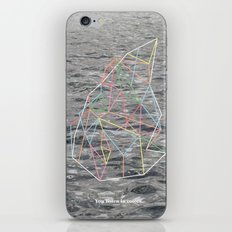 You Listen in Colors iPhone & iPod Skin
