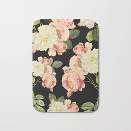 Flora temptation - night Bath Mat
