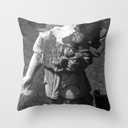 Gothic Angel Throw Pillow