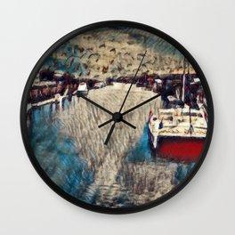 Fisherman's Wharf Wall Clock