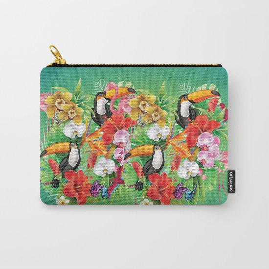 tropical  karnaval Carry-All Pouch