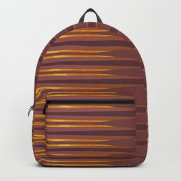 Gold lines Backpack