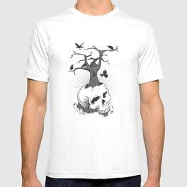 Skull and Tree T-shirt