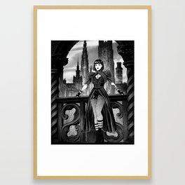 Dark City Queen Framed Art Print