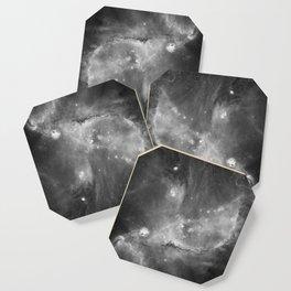 Black-and-White Fantasy Space Galaxy 10 Coaster