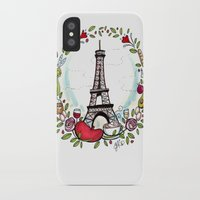 cooking iPhone & iPod Cases featuring French Cooking by Grace Anderson