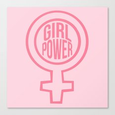 Girl Power Canvas Print