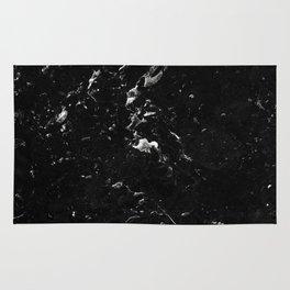 Black Marble #4 #decor #art #society6 Rug