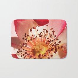 Pomagranate Red Spring Blossom Bath Mat