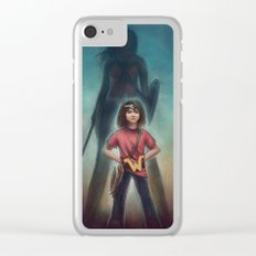 She's Got Your Back Clear iPhone Case