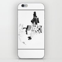 trooper iPhone & iPod Skins featuring Trooper by Inks. MD