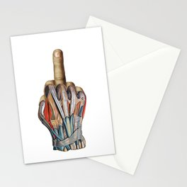 One Finger Salute Stationery Cards