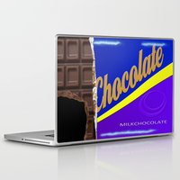 chocolate Laptop & iPad Skins featuring Chocolate by Nicklas Gustafsson