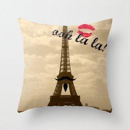 ooh la la Throw Pillow